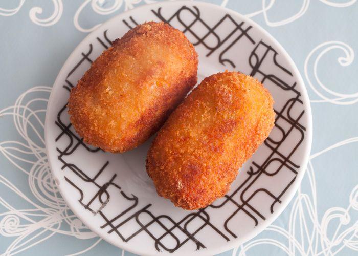 Croquetas de calabaza, otro sabor para un clásico de la cocina