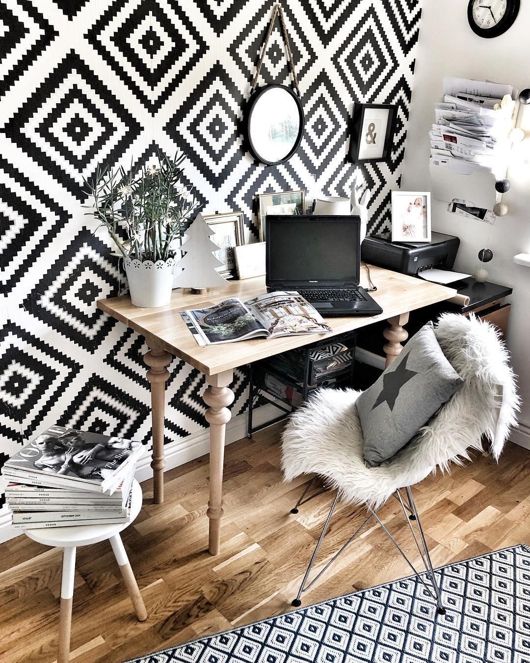 Schwarz Weiß Im Arbeitszimmer: BLACK X WHITE! Der Monochrom-Trend Ist Perfekt Für Das