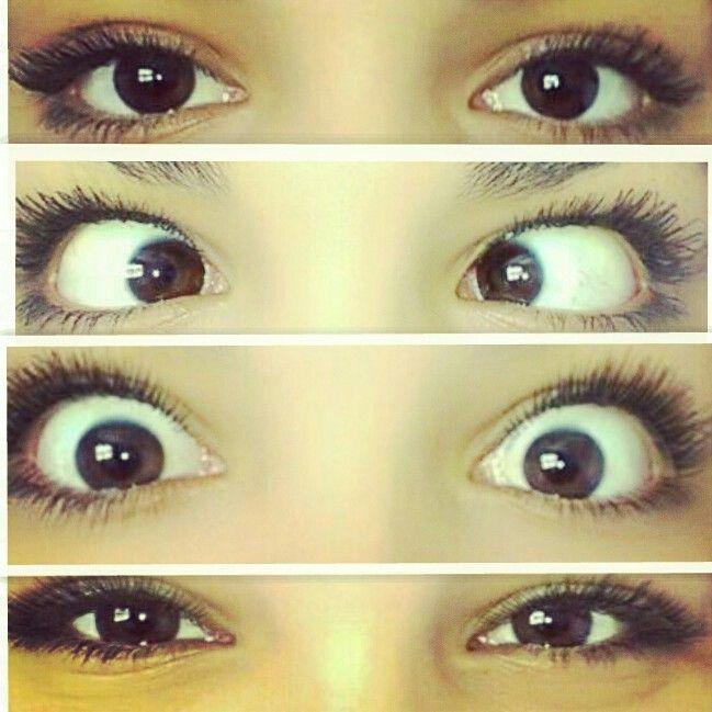 My beautiful brown eyes