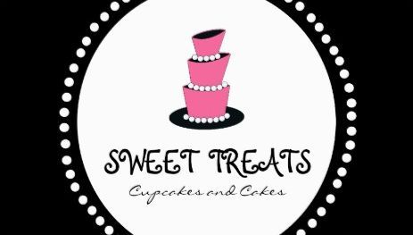 Modern black and pink three tier cake elegant bakery business cards a collection of girly bakery cupcakery and confectionery business cards just for women reheart Images