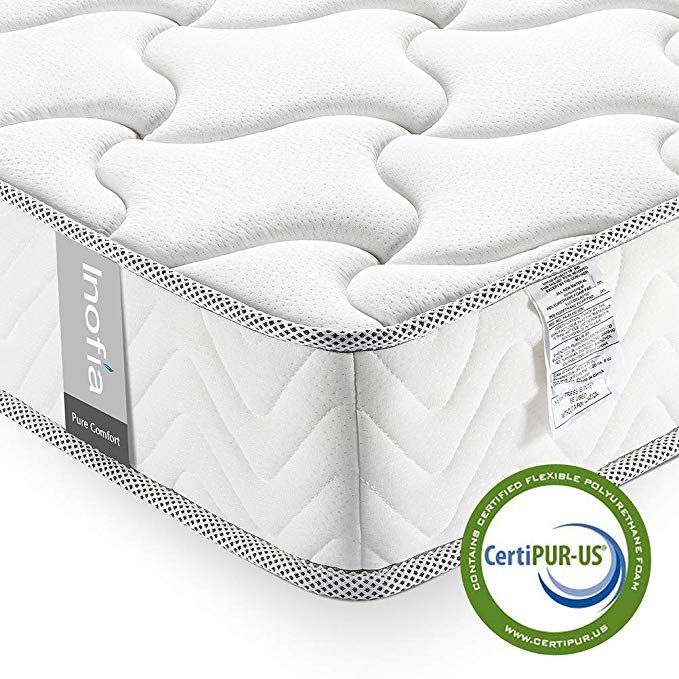 Full Mattress 8 Inch Inofia Full Size Bed Mattress In A Box Cool Memory Foam Certipur Us Certified Comfort Body Supportive Pressure Relief No Risk 100 Ni Twin Mattress Single Bed Mattress