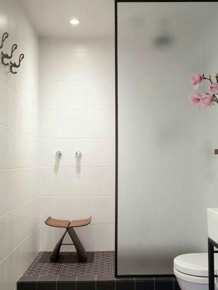 Verwonderlijk Douchewand mat glas (met afbeeldingen) | Badkamer, Badkamerideeën HZ-32