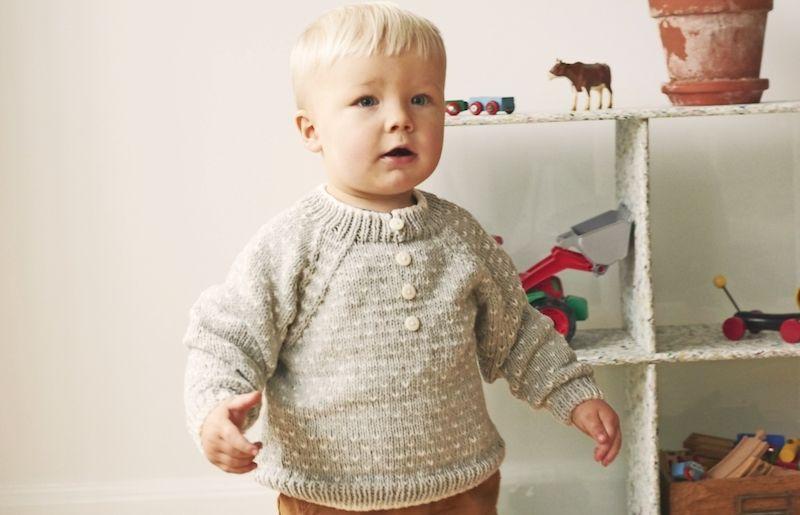 Stickad tröja barn gratis mönster | Året Runt | Barn, Sticka
