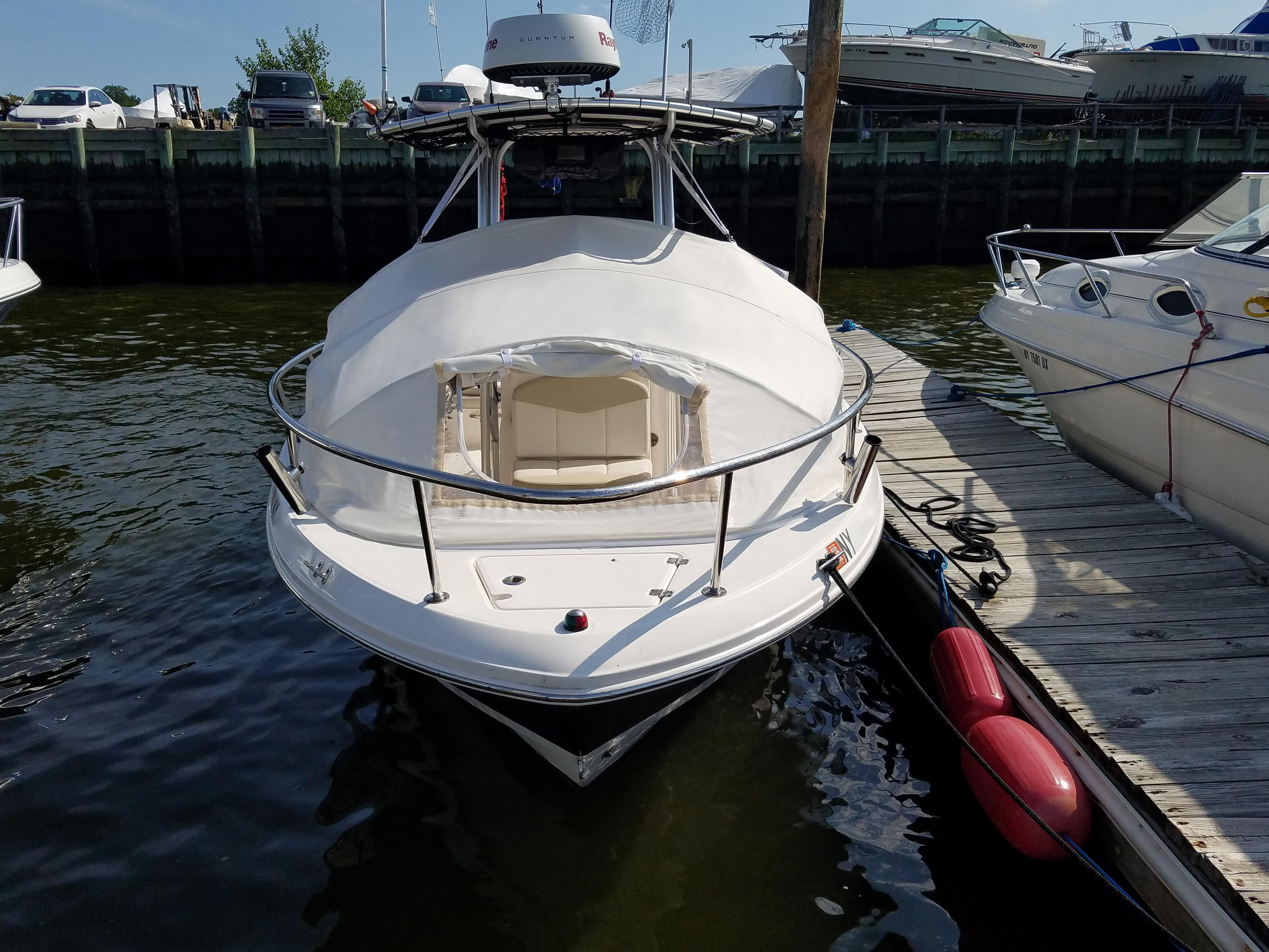 Boat Shade Bow Dodger I Prefab Instant Cabin The Element Boat Center Console Boats Bowrider Boats