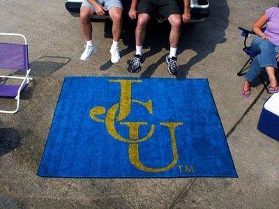 John Carroll Blue Streaks 5x6ft Indoor Outdoor Tailgate Area Rug Mat Carpet Carroll University Rugs Mat Rugs