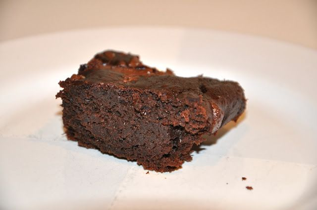 Black bean chocolate brownies - Thanks Melissa!