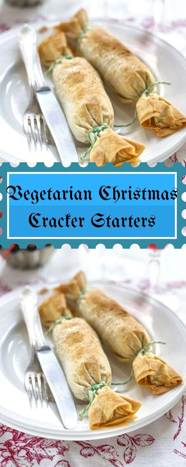 Vegetarian Christmas Cracker Starters Christmas