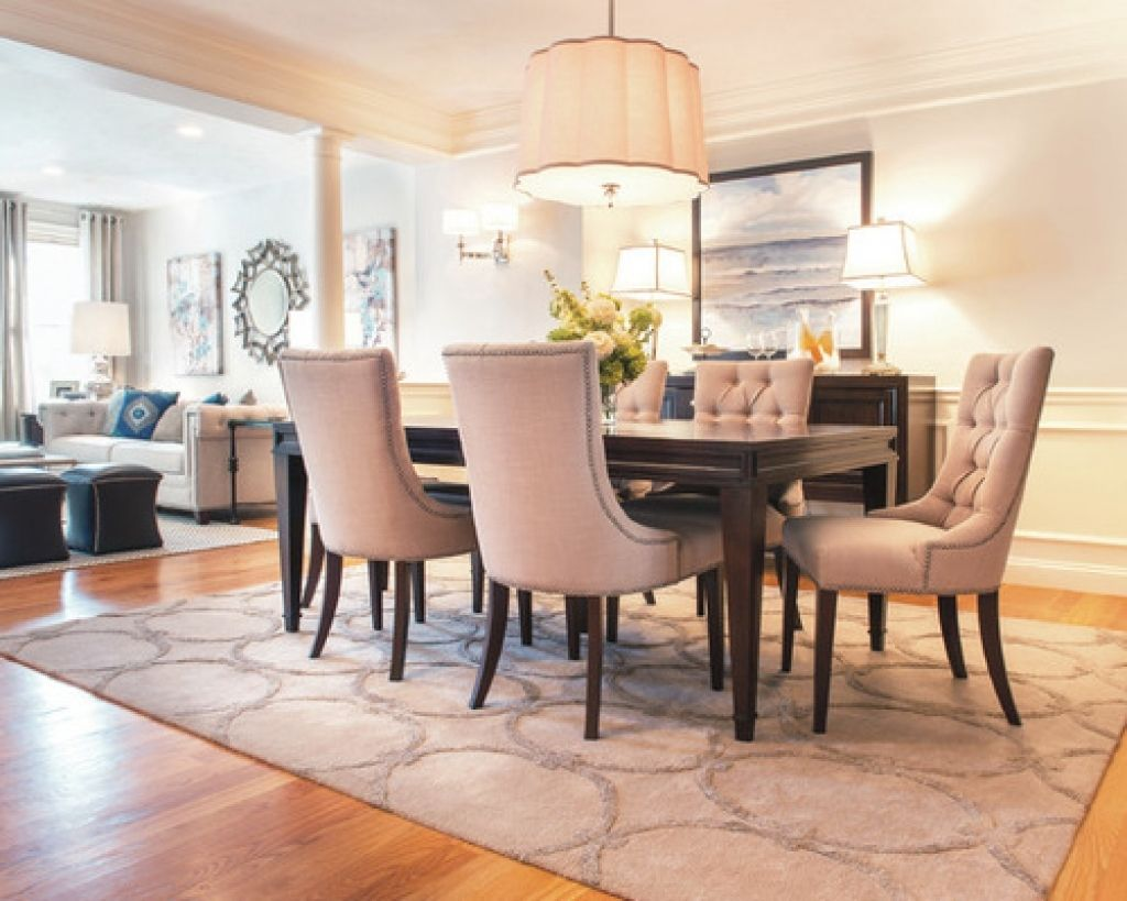 Area Rugs Dining Room Dining Room Area Rug Ideas Pictures Remodel And Decor Pictures Interperform Com Area Rug Dining Room Beautiful Dining Rooms Living Dining Combo