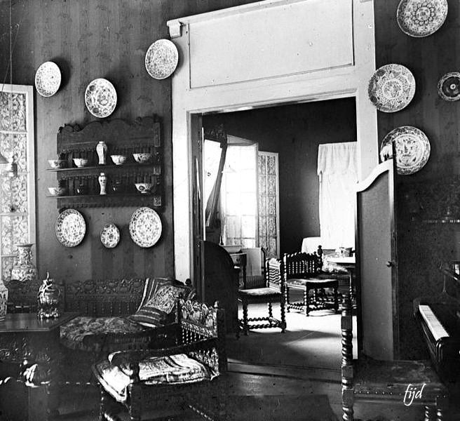 Interior sebuah rumah di Jawa. 19001940 Interior
