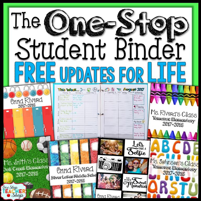 Student Binders: Improve Student Organization