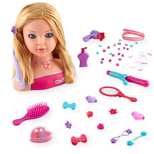 Dream Dazzlers Color Dazzle Styling Head Blonde Toys R Us