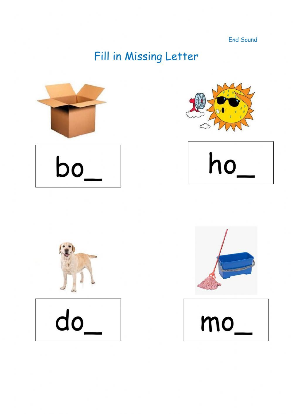 Fill In Missing Final Letter Interactive Worksheet Cvc Words Phonics Cvc Words Letter Worksheets [ 1413 x 1000 Pixel ]