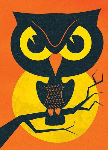 'Halloween Owl' by John Coulter
