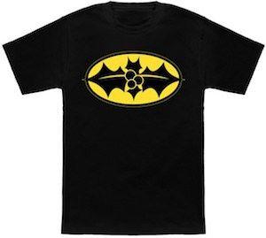 Batman Christmas Logo T-Shirt.