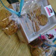 Cookies de avena miel y naranja