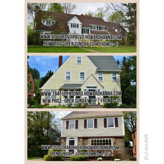 SUNDAY 12/7/14 OPEN HOUSES! GREAT BUYS! FOR MORE INFO... www.cathylesuer.howardhanna.com