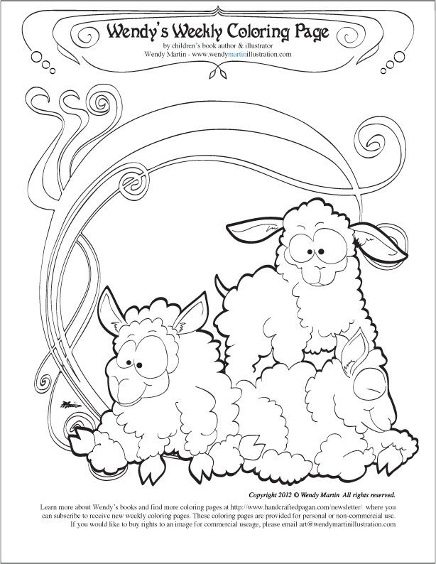 Imbolc coloring page imbolc pinterest adult coloring Coloring Pages Bedding Colloring Pages Coloring Pages Bleed
