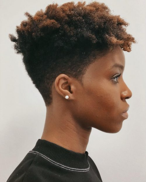 4c Hair Tapered Cut : tapered, Black, Beauty