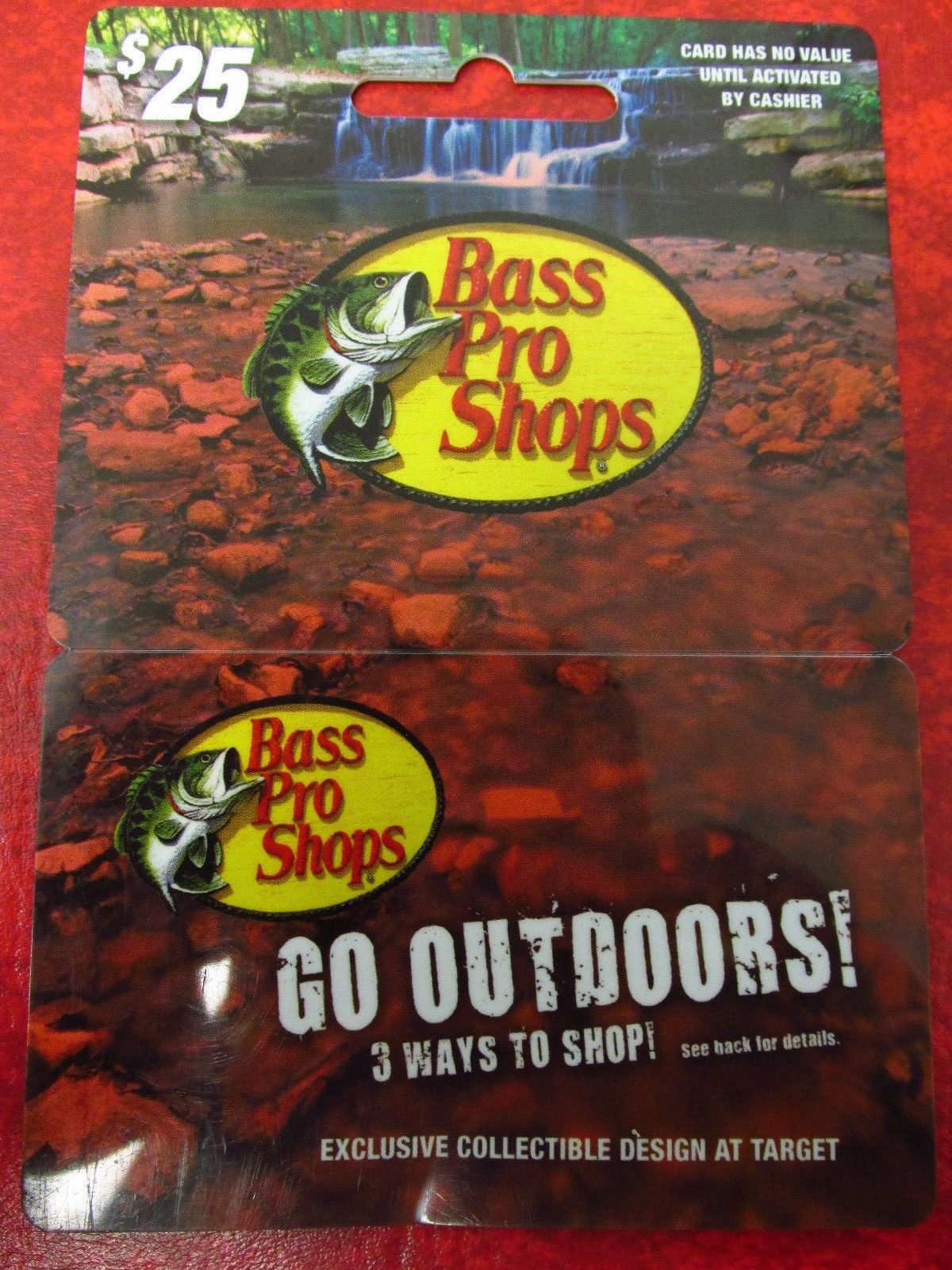Coupons Giftcards Bass Pro Shop Gift Card 25 Coupons Giftcards Gift Card Cards Bass Pro Shop