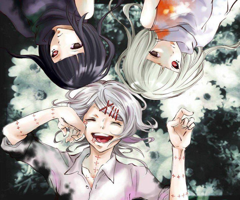 Картинки аниме токийский гуль близнецы