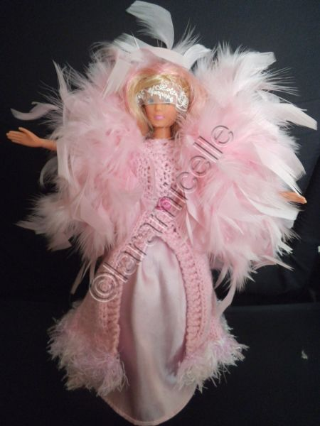 Free barbie tutorial dancing outfit for carnival or a masked ball - free receipts