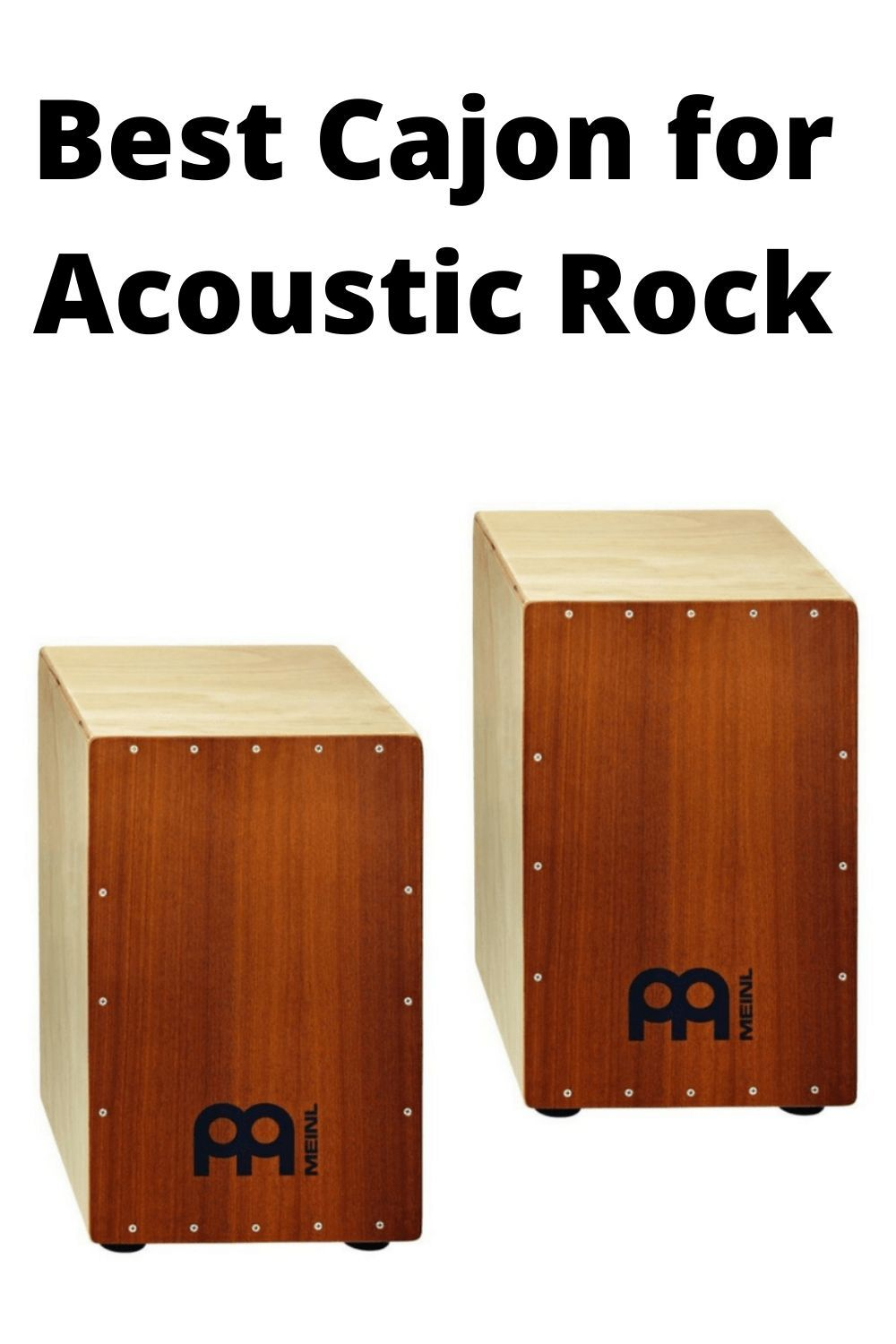 Best Cajon for Acoustic Rock in 2020 Percussion box