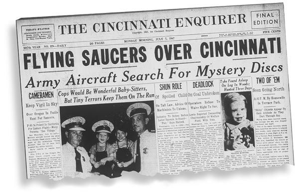 Photo of UFOs – The Flying Saucer Wave of 1947