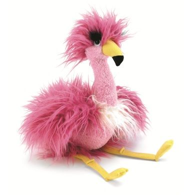 totally want this stuffed animal for Devin....Fenella Flamingo