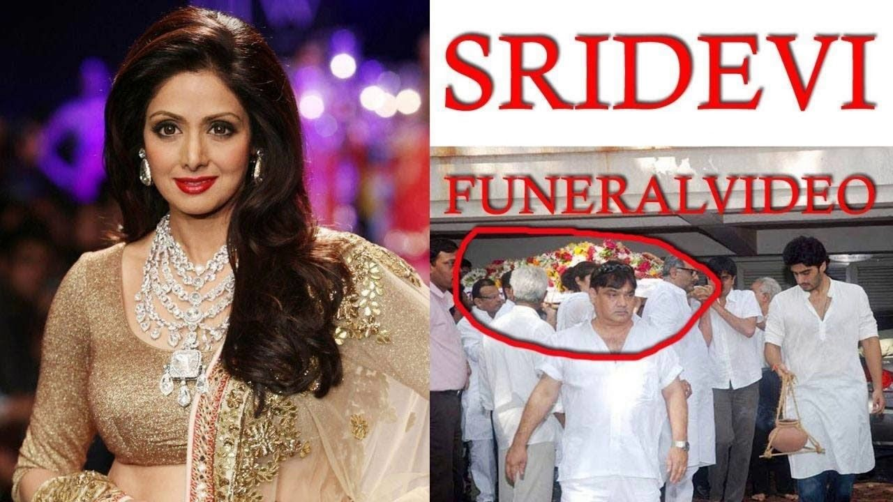 Sridevi Funeral full HD video | StatuS DiarY | Funeral video