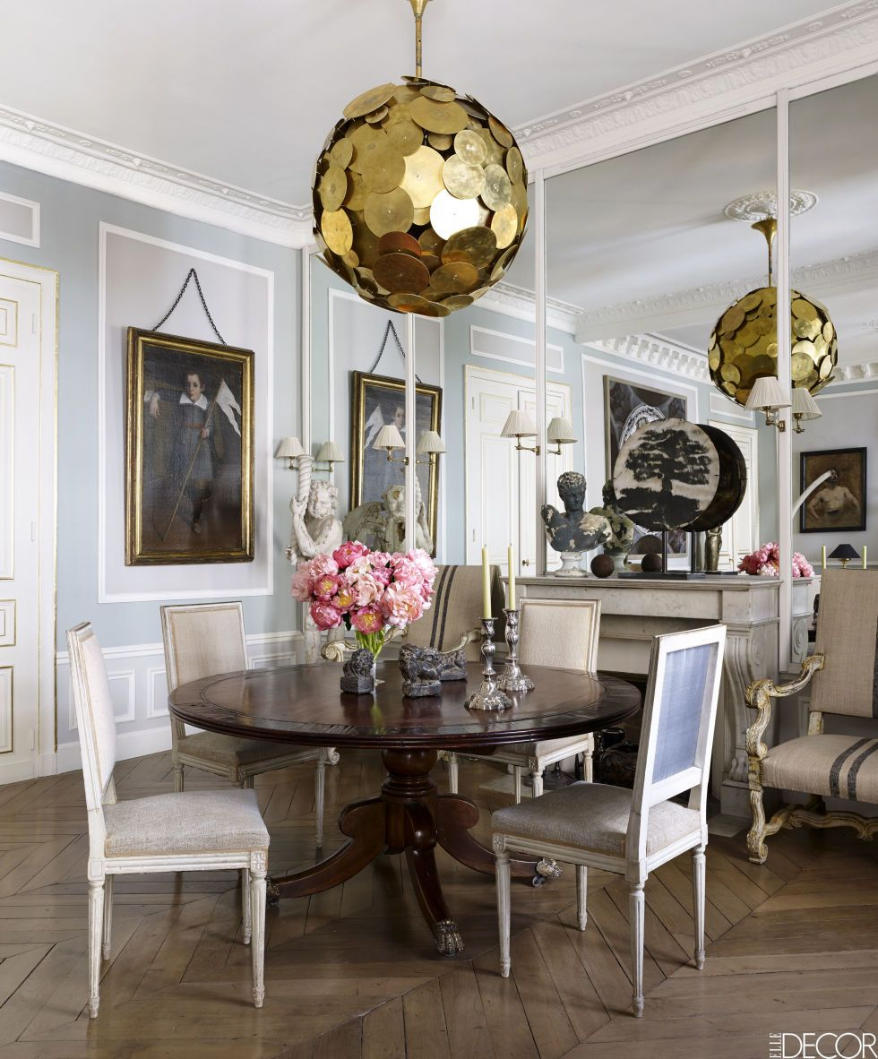 Elegant Tableware For Dining Rooms With Style: HOUSE TOUR: East Meets West In A Sophisticated Paris Pied