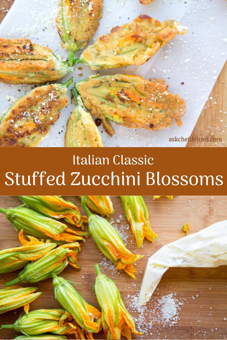Photo of Stuffed Zucchini Blossoms an Italian Classic – Chef Dennis