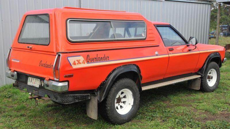 1978 holden overlander 4x4 sandman ute australian cars