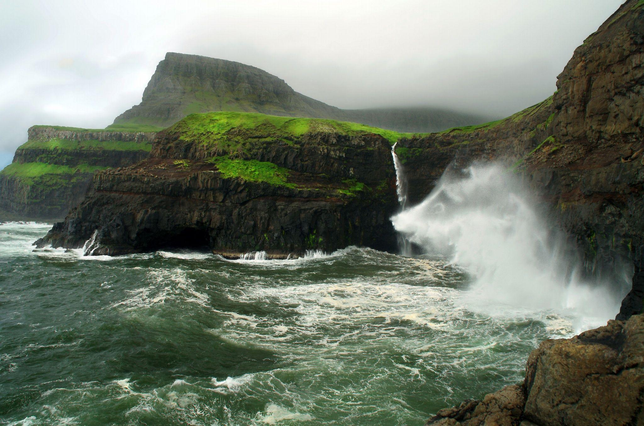 Фотография Faroe Islands - Gásadalur автор Grégoire Sieuw на 500px