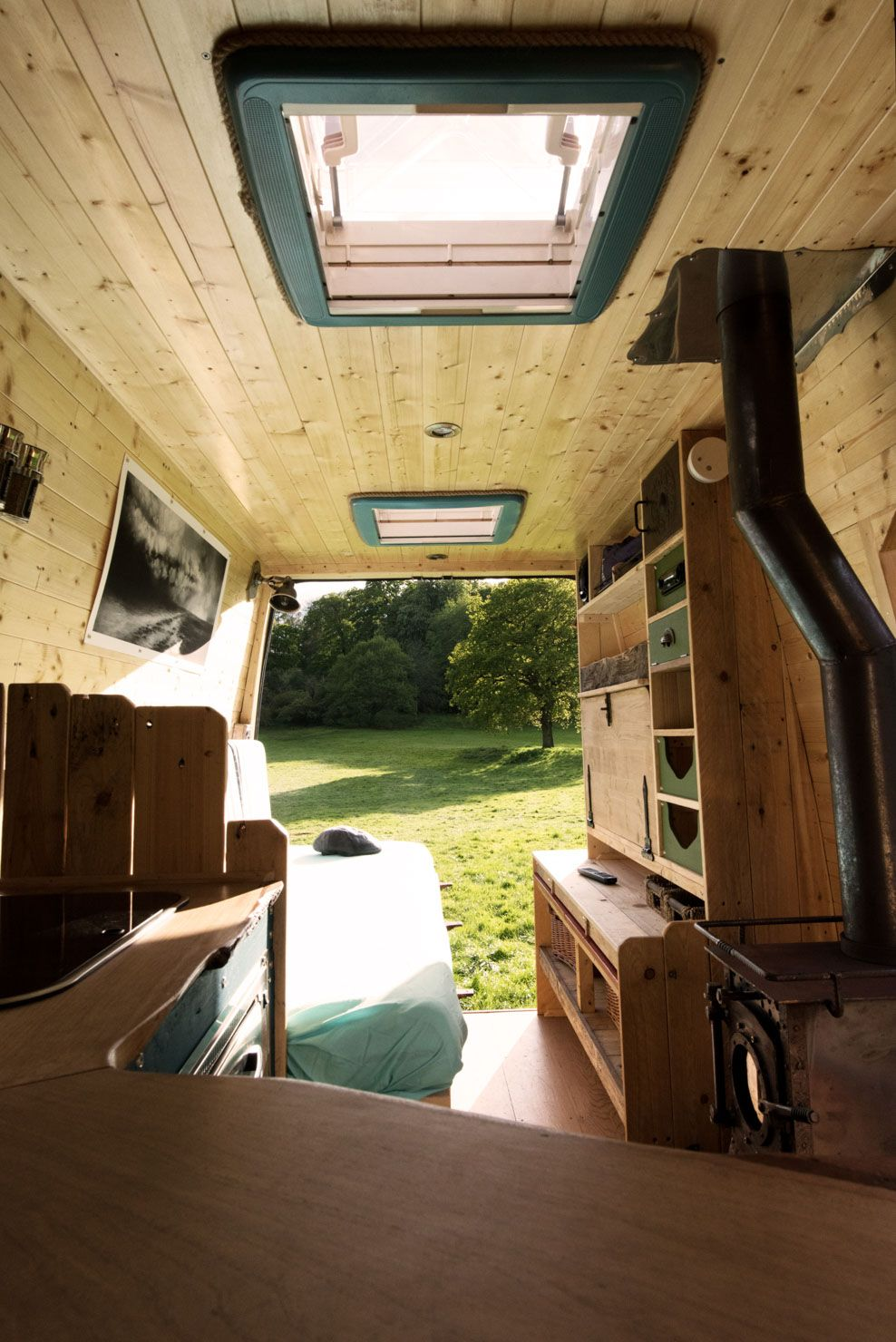 Sprinter Van The Reclaimed Wood In Amelia Is Truly Stunning Book Her Out For Yourself