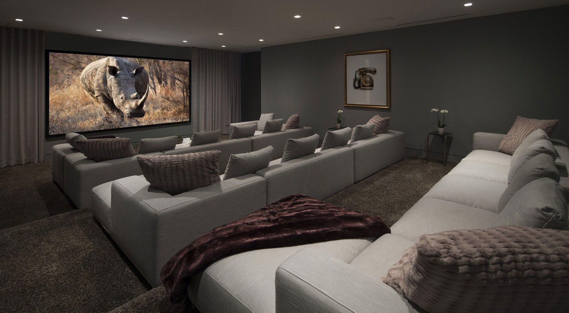 Simple Home And Apartment Interior Design Home Cinema Room Home