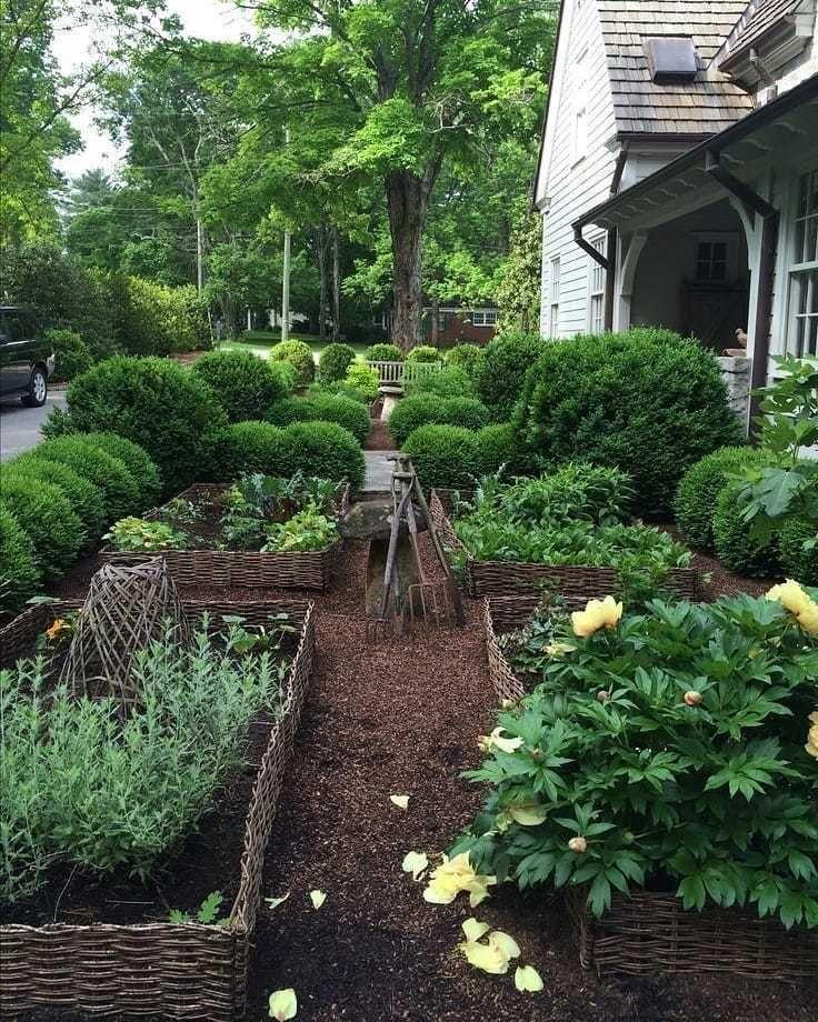 колоды красивый сад для ленивых фото при изготовлении