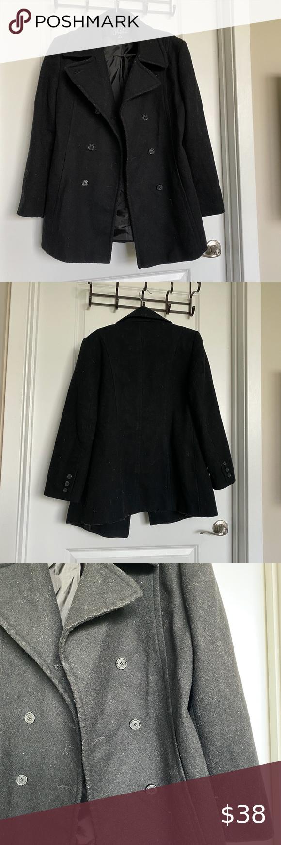 Black Izzi Wool Coat Wool Coat Coat Colorful Coat [ 1740 x 580 Pixel ]