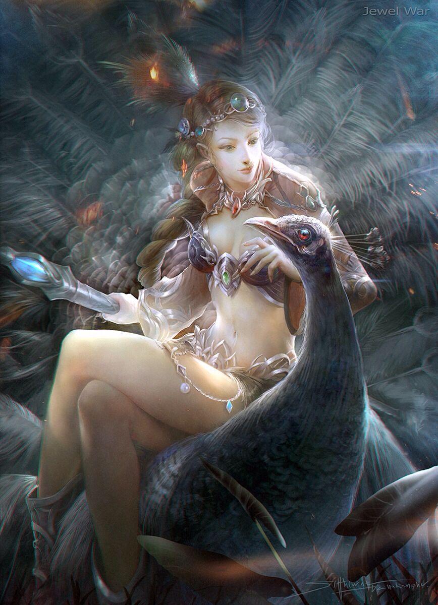 Concept Art by Sutthiwat Dechakamphu   Goddess & Mythology