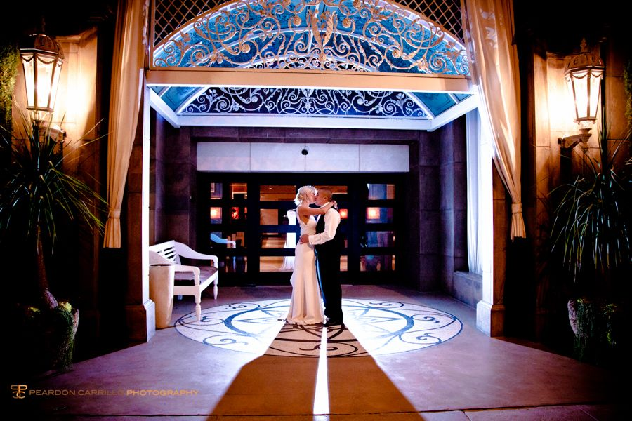 Beautiful wedding at the Huntley Hotel in
