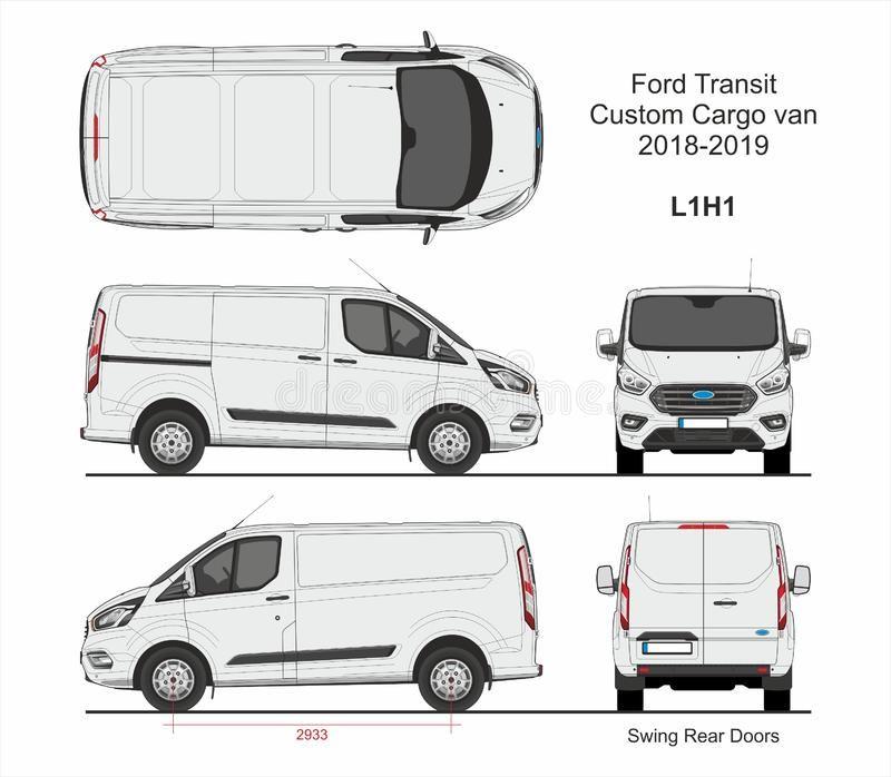 Ford Transit Custom Cargo Van L1h1 2018 2019 Ford Transit Custom Cargo Delivery Affiliate Van Transit Ford Cargo Ford Transit Transit Custom Ford