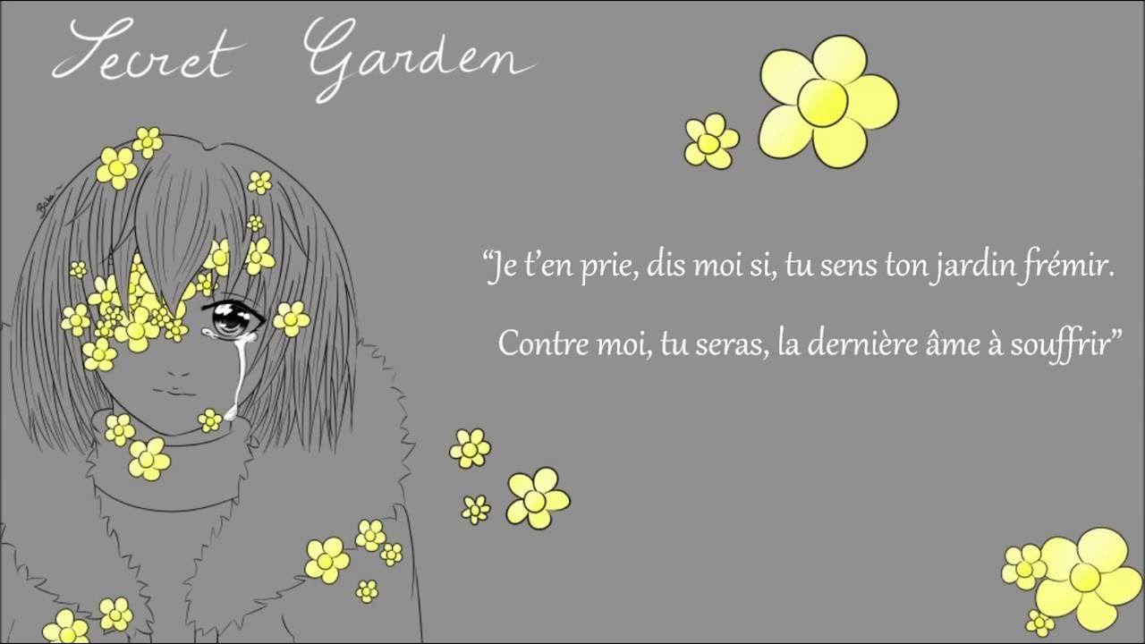 French Cover Secret Garden Flowerfell Lyrics Secret Garden Lyrics Flowerfell French Fence Gartenarbeit Gartenideen In 2020 Secret Garden Garden Lyrics