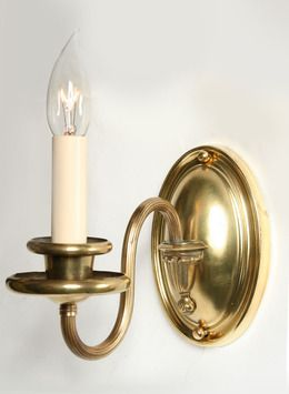 Pair Of Vintage Colonial Revival Wall Sconces C 1940 Sconces Colonial Revival Wall Sconces