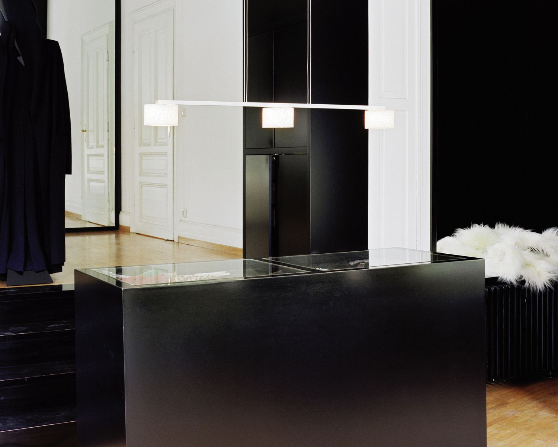Serienlighting reef suspension black u white interior pinterest