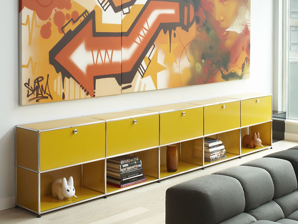 USM HALLER SIDEBOARD FOR LIVING ROOM Storage Unit By USM Modular Furniture