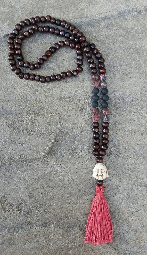 Mala beads by BeadsByMelissa on Etsy, $14.00