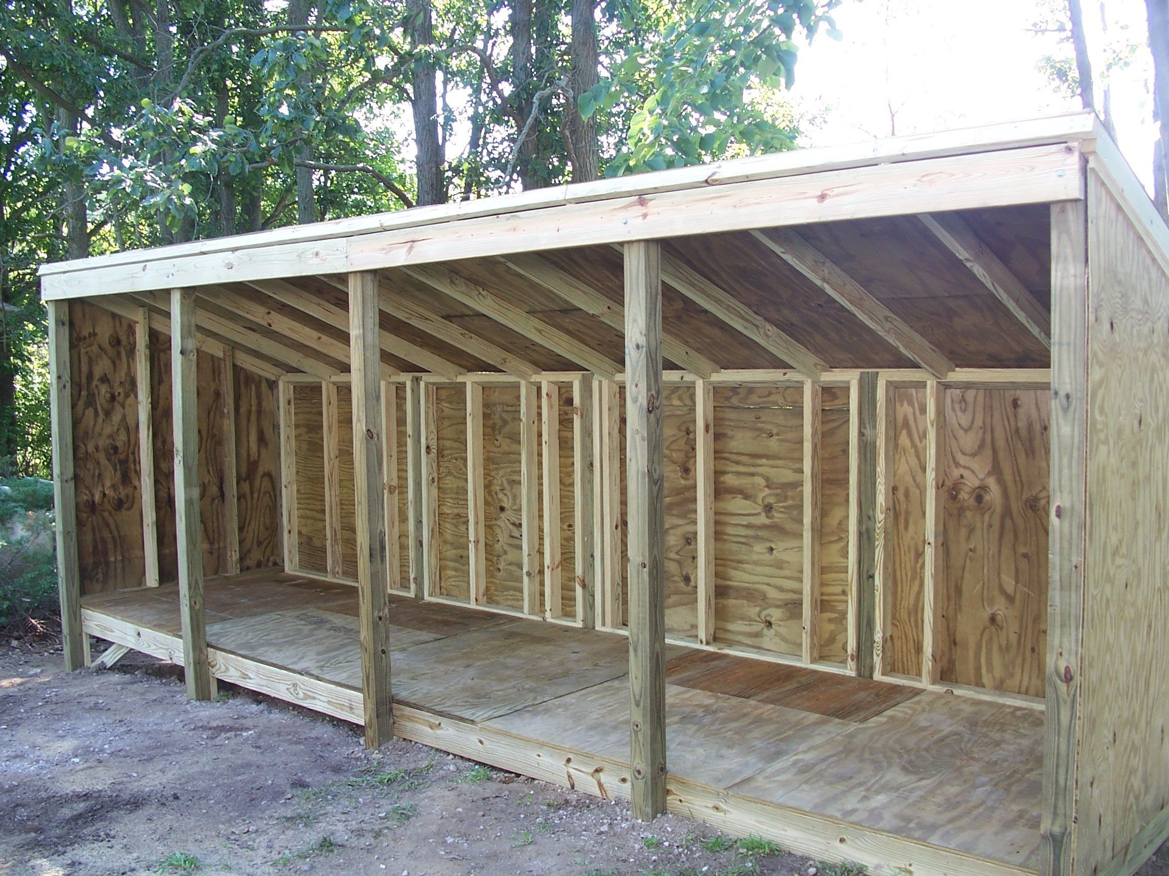 Shed Diy  The Creating Of A Wood Storage Shed