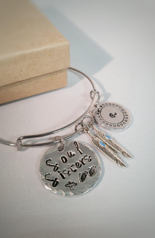 Soul sister bracelet best friend gifts sister gift