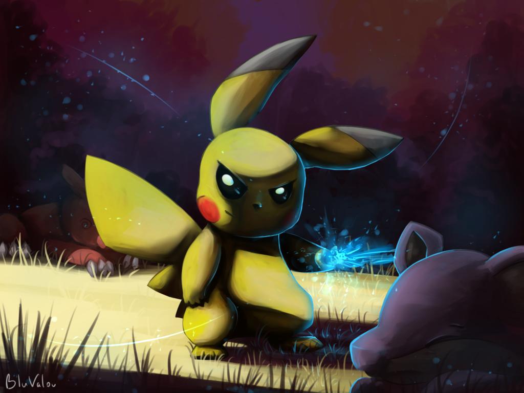 evil pikachu wallpaper - photo #13