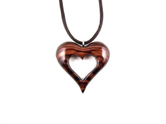 Wood Heart Pendant Wooden Heart Necklace Heart By Gatewayalpha Wood Hearts Wooden Hearts Wooden Heart Pendant