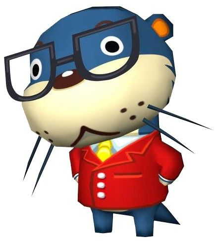Lyle From The Happy Room Academy From Animal Crossing Animal Crossing City Folk Video Game Characters